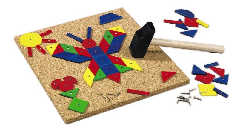 Geo Shape Tack Zap Play Set