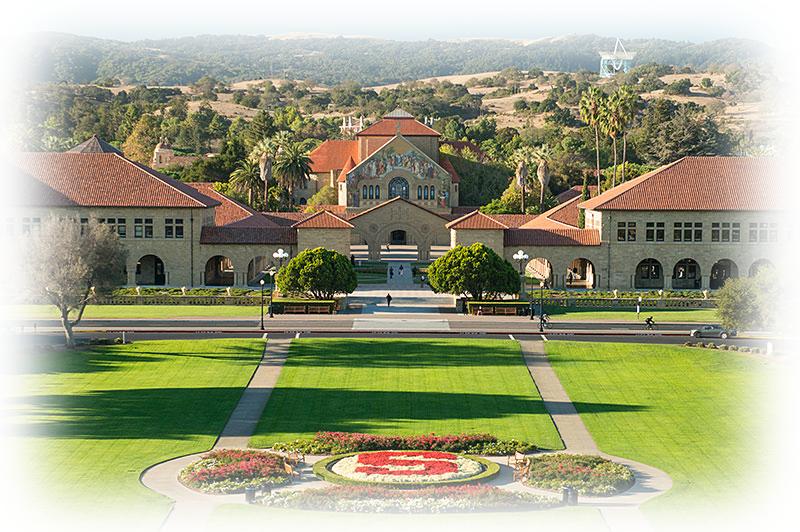 Campus de la Universidad de Stanford en California