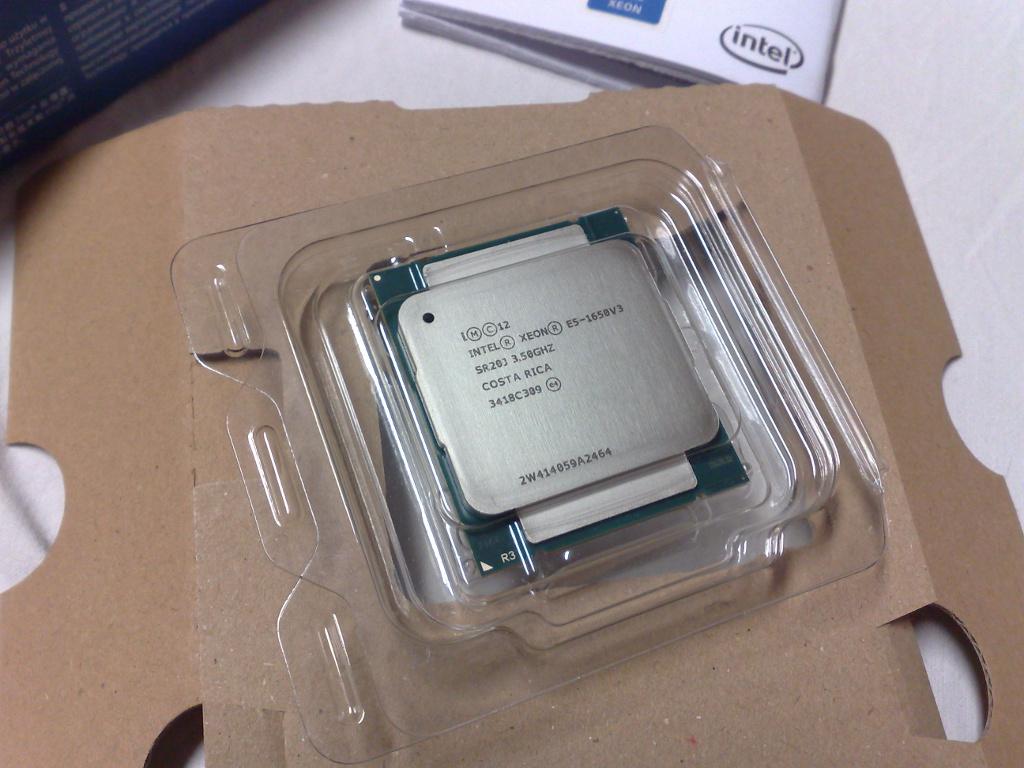 Clásica presentación de un CPU OEM